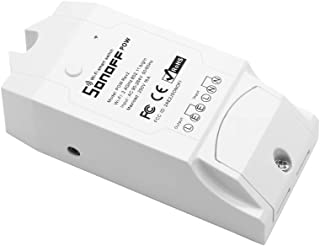 Sonoff Pow R2 ITEAD Smart WiFi Switch, 16A/3500W Wireless ON/Off Controller with Real Time Power Consumption Measurement APP Remote Control