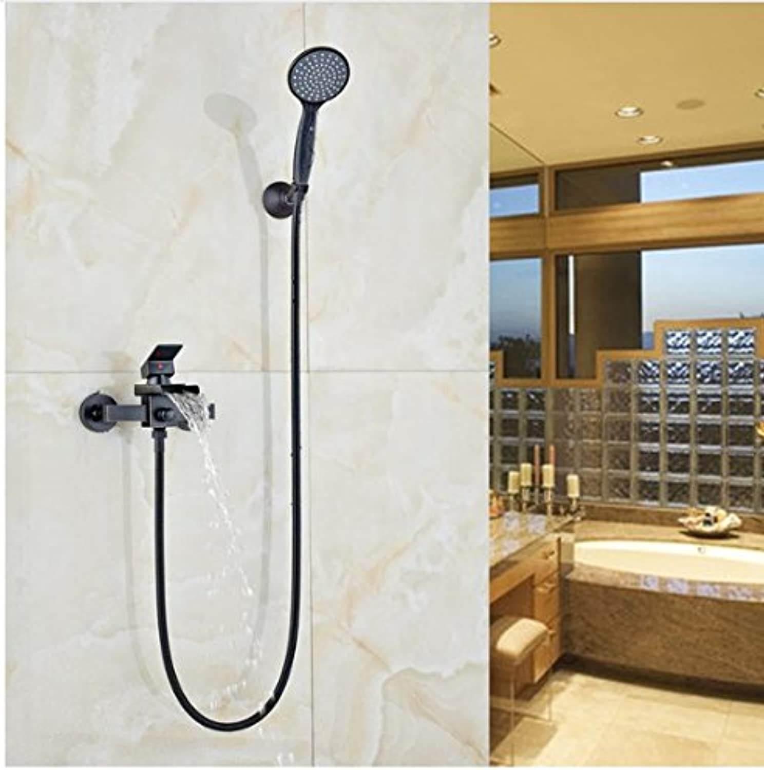 Gowe? New Style Bathroom Shower Faucet In Wall Bathtub & Shower Faucet With Hand Shower Oil Rubbed Bronze