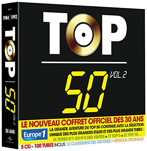 Top 50-30 Ans (100 Tubes) Vol.2