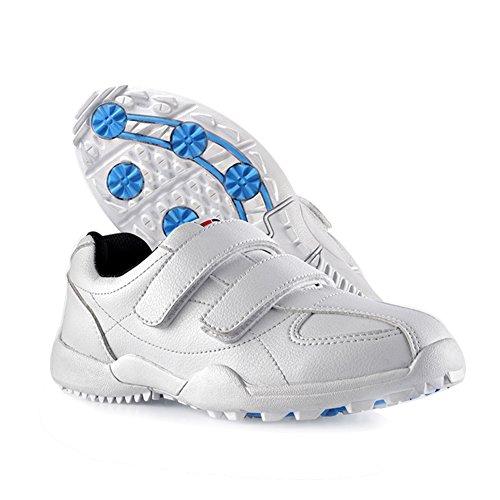 PGM , Chaussures de Golf pour garçon Blanc Blanc - Blanc -...