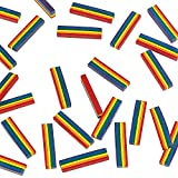 Rainbow Crayons each Crayon has 6 Colors (bulk set of 25 Pieces) Fun Educational And Learning Activities For Kids