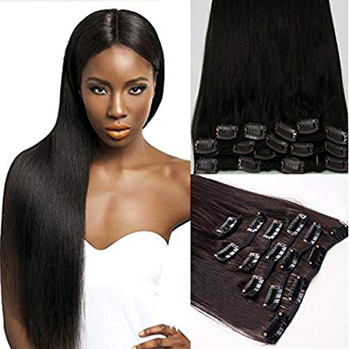 Rossy&Nancy 100% Human Hair Cheap Clip in Hair Extensions Factory Direct Sell Milky Way Hair for Black Women