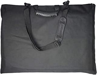 Healifty dessin tableau de peinture sac de rangement document étui de transport imperméable artiste portfolio fourre-tout ...