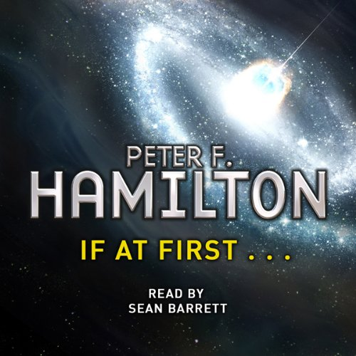 If at First... audiobook cover art