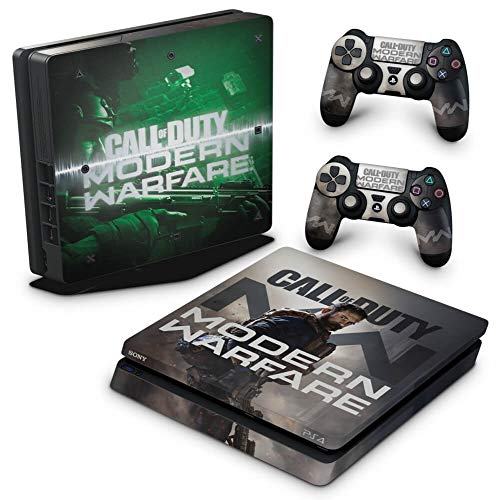 Skin Adesivo para PS4 Slim - Call Of Duty Modern Warfare