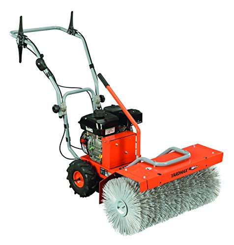 """YARDMAX YP7065 Power Sweeper, 28"""" Clearing Path, Briggs and Stratton, CR950, 6.5 hp, 208cc"""