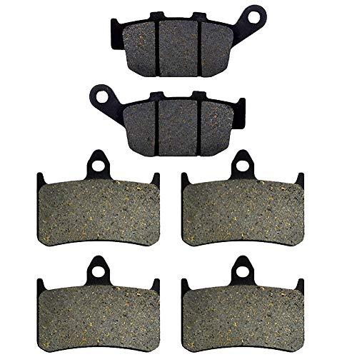 AHL 3 paires plaquettes de frein pour NSR 250 R2/R4 (MC18) 1988 / NSR 250 R5/R6 (MC18) 1989 / NSR 250 R7/R8/R9 (MC21) 1990-1992
