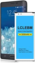 Note Edge Battery LCLEBM 3200mAh Li-Ion Replacement Battery for Samsung Galaxy Note Edge SM-N915 N915U N915A N915T N915V N915P [24 Month Warranty]