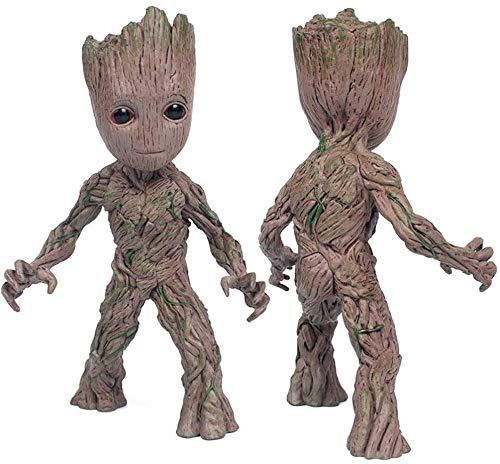 XLLQYY Action-Figuren Baby Groot Nettes Modell Spielzeug Guardians of The Galaxy Für Kinder (Einhand) 1St