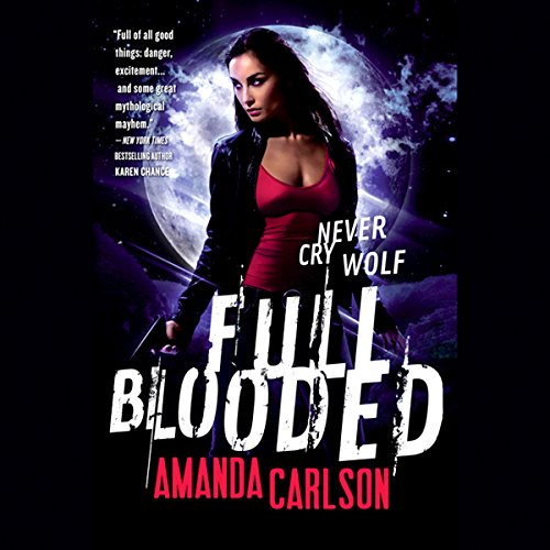 Full Blooded audiobook cover art