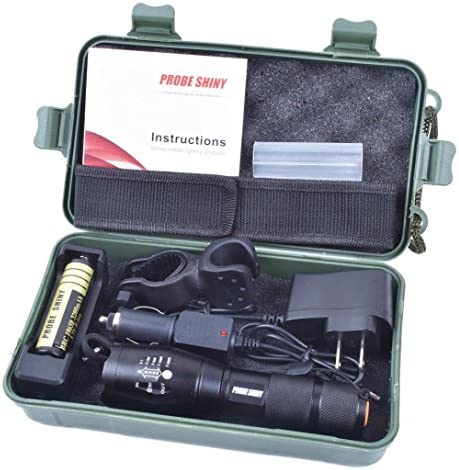 Flashlight ZYooh Bright 5000LM X800 shadowhawk T6 LED Flashlight Torch Lamp G700 Light Kit product image