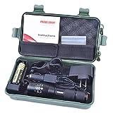 Flashlight,ZYooh Bright 5000LM X800 shadowhawk T6 LED Flashlight Torch Lamp G700 Light Kit
