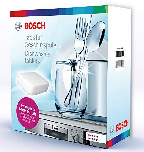 Bosch Dishwasher Tablets ( 25 Tablets) 500gm