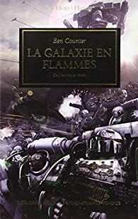 La galaxie en flammes par Ben Counter
