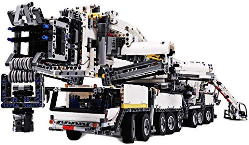 LSOGO techniek custom bouwstenen, 7692 delen Liebherr Kran ModeCompatibel met grote merken, geen motor
