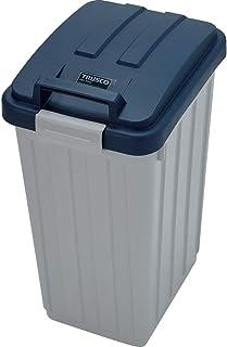 TRUSCO(トラスコ) カラー分別ボックス45L ハンドル付 ブルー TCH-02