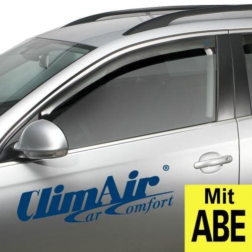 ClimAir CLI0033830 Windabweiser Profi Vorne rauchgrau