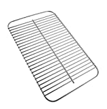 EasiBBQ 80631 Stainless Steel Grill Grate for Weber Go-Anywhere Charcoal and Gas Grill, Replaces 70211, 3634, 67195, 16' x 10'