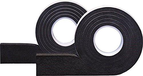 Preisvergleich Produktbild greenteQ VBH Schlagregendichtes Dichtband 600 Kompriband Quellband Dichtungsband 9-20mm - 25mm - 3, 3m