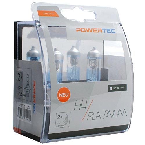 M-Tech PTZPT4-DUO Powertec Platinum con 130% H4 12V DUO