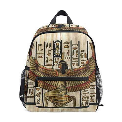 Linomo Egipto - Mochila para niños, diseño de papiro Egipcio