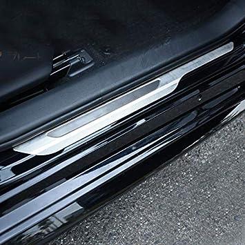 High Flying Für Corolla E210 Hybrid 5 Türer Corolla Touring Sports 2019 2021 Exterieur Einstiegsleisten Türschweller Edelstahl 4 Stück Silber Auto