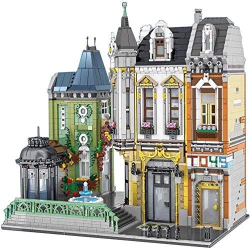 kids toys GCX Juego de construcción modular de casa 5477 piezas, rompecabezas 3D DIY jugando, regalos de Navidad cumpleaños para adultos y niños exquisitos