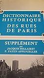 Dictionnaire histoire des rues de paris supplement 032197 - Minuit