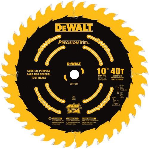 "DeWalt 10"" x 40T PrecisionTrim"