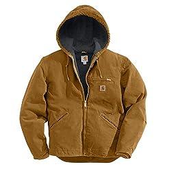 0ccf957a3d7 Carhartt Men s Sherpa Lined Sandstone Sierra Jacket J141 —  110- 150