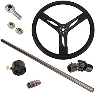 Demo Derby Steering Column Kit, Fits 72-78 Ford
