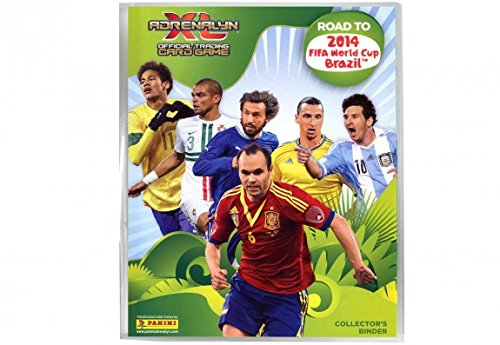 Panini Road to 2014 Album pour collection de cartes thème coupe du monde de football au Brésil Format XL