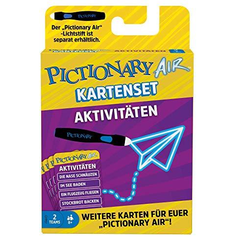Mattel Games GYP07 - Pictionary Air Erweiterungskartenset Aktivitäten, Zeichenspiel für die ganze Familie, ab 8 Jahren