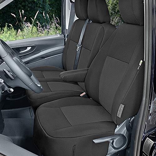 Sitzbezüge Tailor Made passgenau geeignet für Mercedes Vito W447 ab 2014 (3Sitzer) Stoffbezüge Neuheit