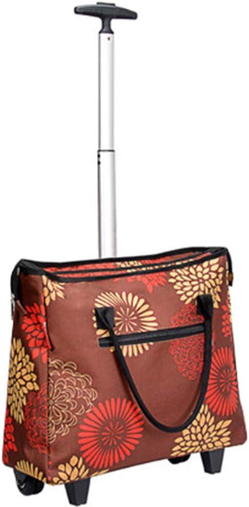 XINGPING-HOME Max 62% OFF Folding Shopping Cart Portable Trolley Tug Bag Sho Max 51% OFF