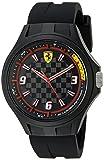 Ferrari 830278 Pit Crew Analog Display Quartz Black Watch