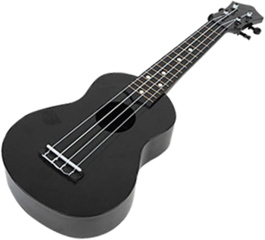 WT-DDJJK Ukelele acústico, Ukelele acústico Colorido de 21 Pulgadas, Instrumento de Guitarra pequeña para niños de 4 Cuerdas
