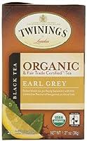 Twining Tea Tea Earl Grey Org、20BG、pk- 6
