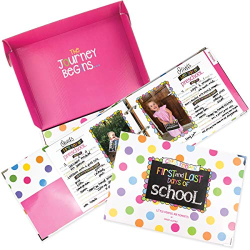 Class Keeper School Memory Book | Scrapbook Album for Kids - Preschool to College | Keepsake Pocket for Every Grade | Photo Pages for Class Photos & School Pictures