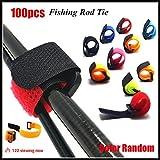 Dragonface Ceinture réutilisable en extérieur pour canne à pêche Accessoires de pêche Sangles de batterie Taille unique coloré