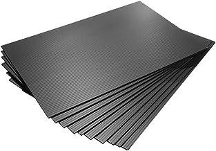 【国産10枚入】プラダンシート 黒 幅301mm ×長450mm 厚3mm