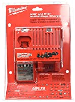 Milwaukee 48-59-1812 M12 and M18 Multi Voltage Charger, Red by Milwaukee