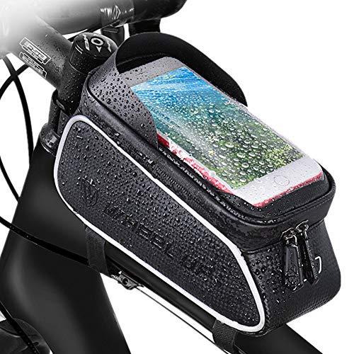 Bolsa Bicicleta Bolsa Sillin Bici Accesorios para Bicicletas Accesorios Soporte de teléfono de Bicicleta Impermeable Bicicleta Bolso