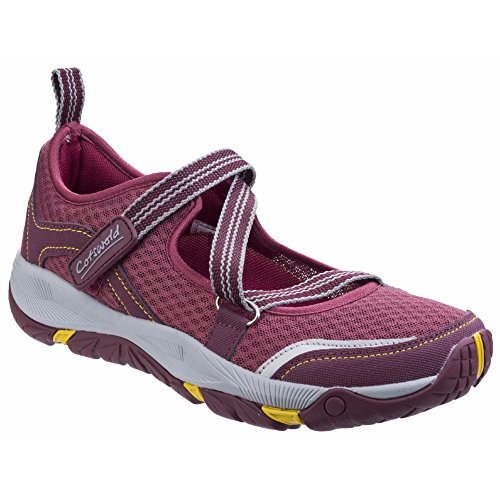 Cotswold Damen Northon Mary Jane Hiking Schuhe (37 EU) (Weinrot)
