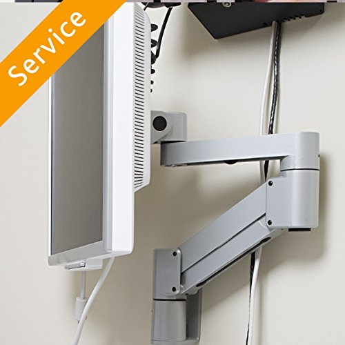 Computer Monitor Mount Installation - Single Arm