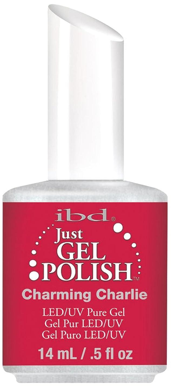 護衛磨かれた封筒IBD Just Gel Polish - Charming Charlie - 0.5oz / 14ml
