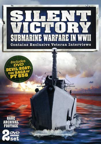 Price comparison product image Silent Victory Submarine Warfare in WWII - Rare Archival Footage - 2 DVD Set!