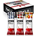 12-Pack That's it. Apple + Variety 100% Natural Real Fruit Bar