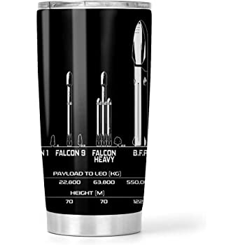 Brand New Space X Falcon 9 Water Tumbler 20 fl oz Elon Musk SpaceX