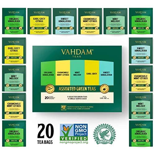 Tè verde Himalayan Bullets, 100% tè verde in foglie, direttamente dall'Himalaya – 50 tazze, 100g